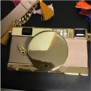kate spade spice things up camera necklace